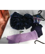 7 Pc American Girl Today Marisol Outfit Purple Ballet Shoes Earrings New... - $98.99
