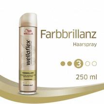 Wella Wellaflex Farbbrillianz COLORED Hair Hair SPRAY #3 -250ml-FREE SHI... - $12.86