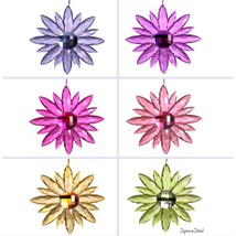 Ganz Crystal Expressions Giant Jewel Flower Suncatcher - $14.98