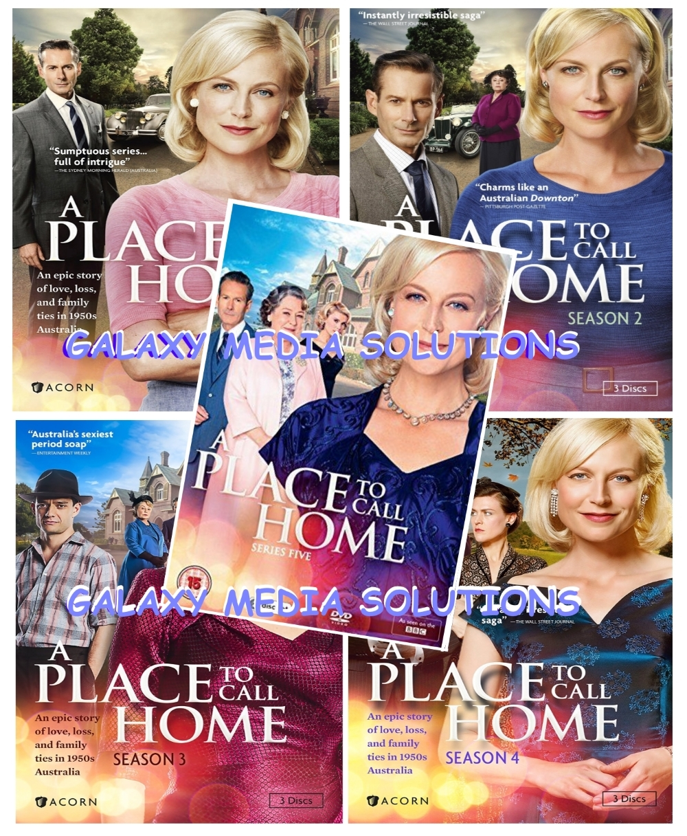 A place to call home season 1 4 dvd bundle  10 disc  1 2 3 4 5