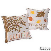 Thankful Grateful Blessed Pillow Set - $19.36