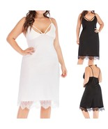 Sun dress Nightgown Sleeveless  Sleep Shirt Dress Soft Loose Sleepwear w... - $18.50