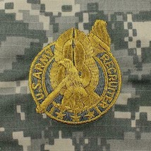 GENUINE U.S. ARMY Embroidered Badge: RECRUITER GOLD On ACU (MILITARY ISSUE) - $18.79