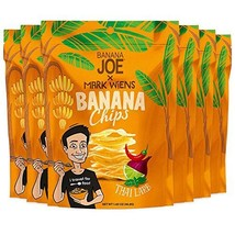 Chips Thai Larb Flavor by Mark Wiens x Banana Joe, Gluten-Free Healthy Snacks fo