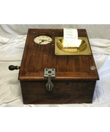 1 Old Vintage Pryotime Systems Mechanical Industrial Clocking In Time Recorder - $485.48