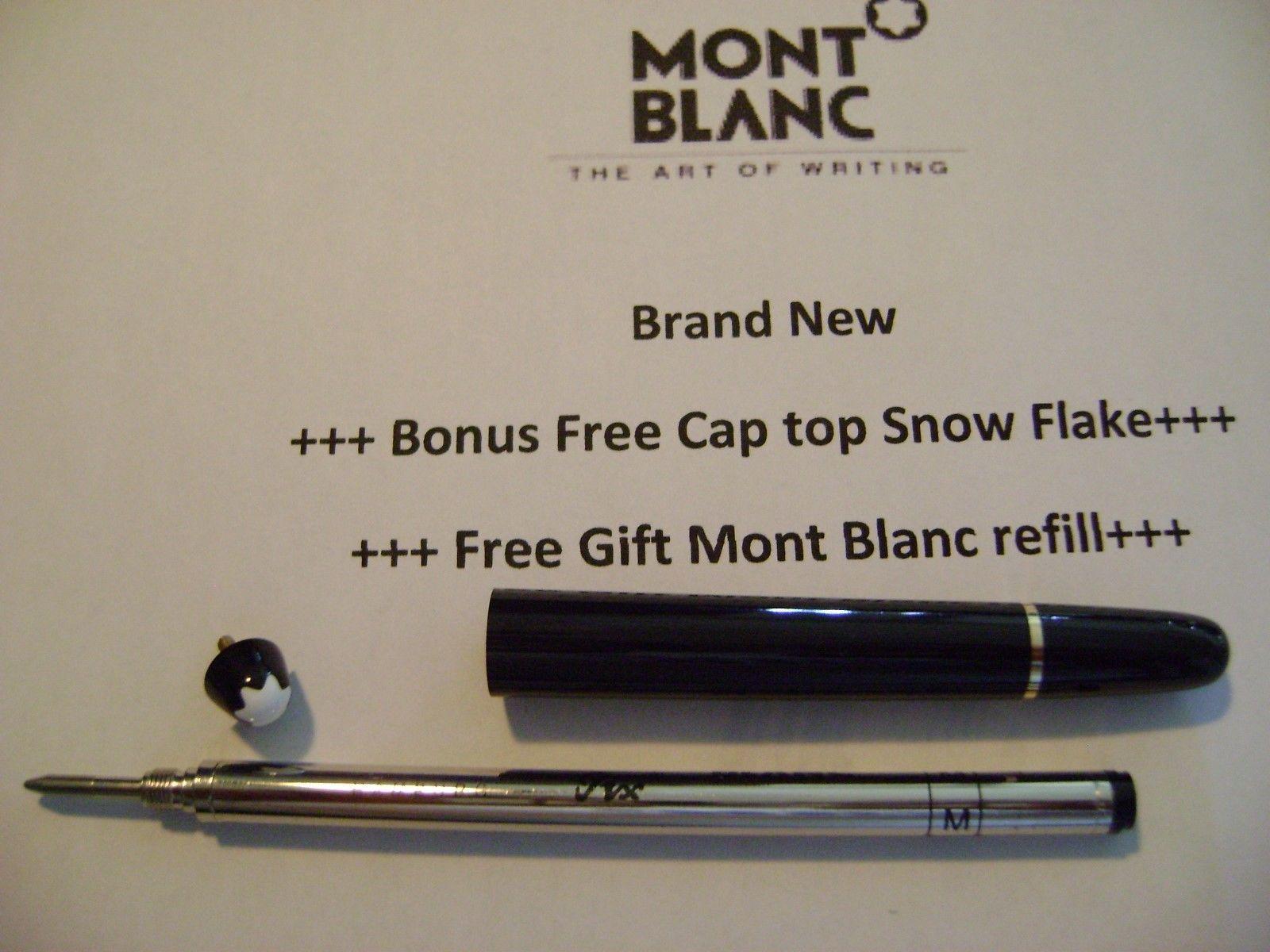 Parts Replacement Pen Barrel Platinum Trim Montblanc for 144 /163 Rollerball +