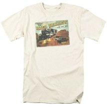 Back To Future 3 T-shirt Hill Valley Postcard 80s movie retro cotton tee UNI379 image 2