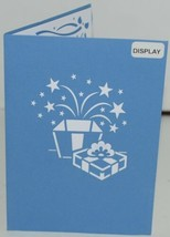 Lovepop LP1097 Birthday Present Pop Up Card White Envelope Cellophane Wrapped image 2