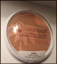 NEW & SEALED Large Wet n Wild Coloricon Bronzer & Blush #34297 Dusk Til Dawn     - $8.75
