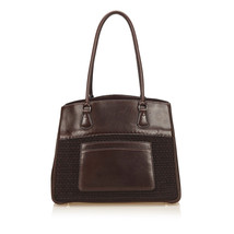 Pre-Loved Hermes Brown Others Fabric Leather Trim Tote Bag France - $777.69