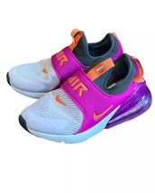Nike Air Max 270 Extreme Running Shoes Youth Girls 5.5 Womens 7.5 Slip On - $49.49