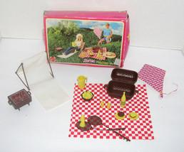 Vintage Mattel Barbie Picnic Play Pack 1982 - $19.98