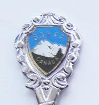 Collector Souvenir Spoon Canada Alberta Banff Mountain View Emblem - $2.99