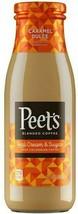 Peet's Caramel Dulce Iced Coffee 13.7 oz ( Pack of 12 ) - $59.39