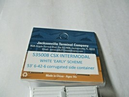 Jacksonville Terminal Company # 535008 CSX Intermodal 53' Container  N-Scale image 2