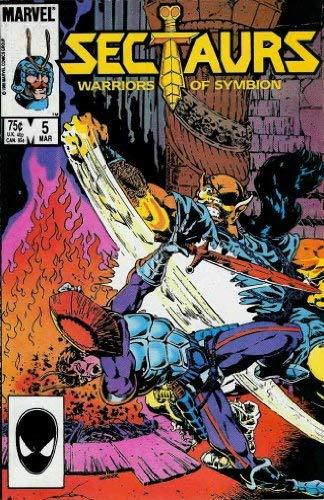 Sectaurs, Edition# 5 [Comic] [Mar 01, 1986] Marvel
