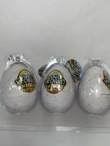 (3) DINO WORLD Megga Grow Egg Place in Water Watch it Hatch Dinosaur NEW - $12.86
