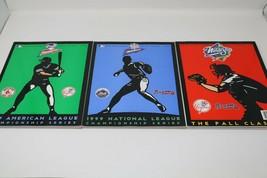 1999 American & National League Championship Series & Fall Classic Progr... - $14.73