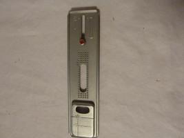 Vintage Kenmore Buttonholer Metal Guide Plate w 3 Templates Eyelet+  - $18.39