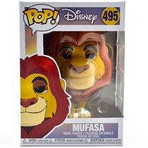 Funko Pop! Disney The Lion King Mufasa #495 Vinyl Action Figure image 1