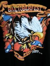 "Men's Black T Harley Davidson ""BIKETOBERFEST"" Florida 1998 Sz XL EUC - $16.79"