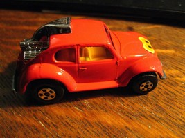 Matchbox VW Volks-Dragon Auto - Vintage 1971 Rosso Volkswagon Lesney Ing... - $24.62