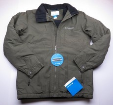 NEW WITH TAGS Columbia Green Jacket Zip Up Water Resistant Adult Size Small - $79.16