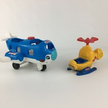 Fisher Price Little People Travel Together Airplane Lights Sounds & a He... - $10.39