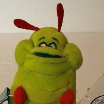 "Disney Store A Bugs Life Heimlich Caterpillar Beanie Plush Stuffed Animal 8"" image 5"