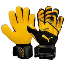 Puma One Protect 2 RC Goalkeeper Gloves GK Soccer Football Black/Yellow 04165802 - $79.99