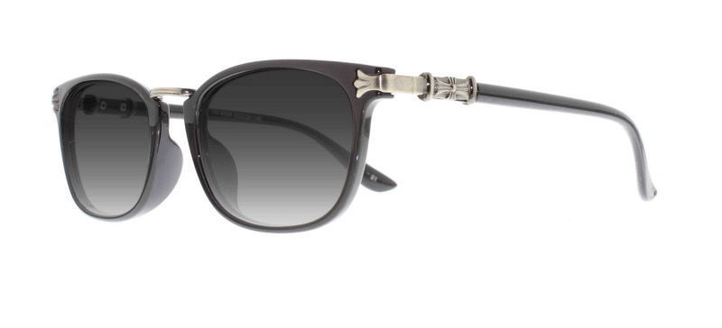 ab721afe7adb S l1600. S l1600. Previous. Ebe Reading Glasses Mens Womens Retro Black  Horn Rimmed Silver Sunglasses