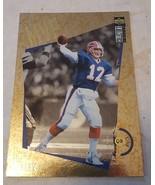 JIM KELLY 1996 Collector's Choice MVP GOLD Card M3 Buffalo Bills - $1.00