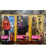 Barbie National Geographic Careers Biologist Dolls Mattel 2018 - New! Lo... - $49.49