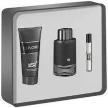 Mont Blanc Montblanc Explorer Cologne 3.4 Oz Eau De Parfum Spray 3 Pcs Gift Set image 2