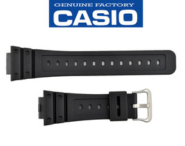 Genuine Casio G-Shock DW-5600BB DW-D5600P Watch Band Strap Black Rubber - $19.95