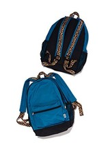 Victoria's Secret Pink Blue/Black Campus Backpack - $180.04