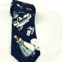 Ralph Marlin Mens Necktie NASA Space 1997 Space Walk Astronaut Vintage - $29.70