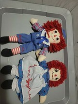 "Raggedy Anne And Andy Doll, 12""  - $24.75"