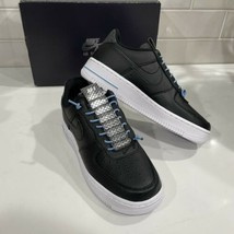 Nike Wmns Air Force 1 '07 LX Women's Size 6 Black Silver Shoes 898889-015 New - $84.99