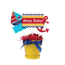 "Ahoy Matey 9 1/2"", 10"", 12"" Centerpiece Sticks/Case of 18 - £24.53 GBP"