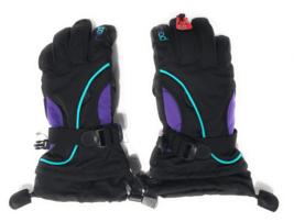 Head Junior Jr Noir Violet Bleu Sarcelle Isolé Ski Snowboard Gants Hiver M/6-10