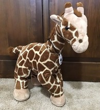 """Build a Bear 18"""" Plush Giraffe WWF World Wildlife Fund 2005 With Medallion - $12.00"""