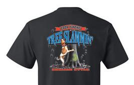 T-shirt Shirt Coon Hound Dog Coonhound Raccoon Hunter Tree Slammin English - $12.99+