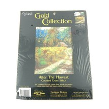 Candamar Designs Counted Cross Stitch Kit After the Harvest - Gold Colle... - $24.49