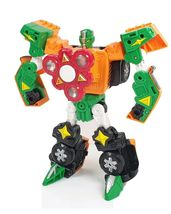Hello Carbot Spinnable Spinner Transformation Robot Action Figure Toy image 4