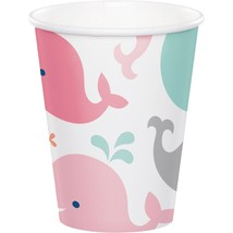 Lil' Spout Pink 9 Oz. Paper Cup/Case of 96 - $41.65