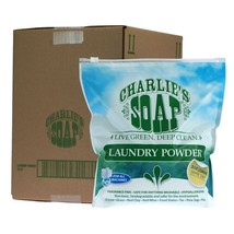 Charlie's Soap Laundry Detergent 32 lb 1200 Loads Free Shipping - $158.39