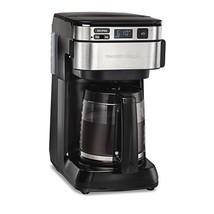 Hamilton Beach 46310 Programmable Coffee Maker, 12 Cups, Black - $42.36