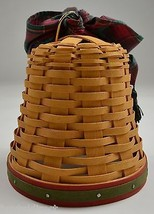 Longaberger 2000 Century Celebration Noel Bell Basket & Handle Tie Collectible - $39.99