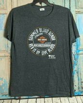 Fruit of the Loom Mens L Short Sleeve Harley Davidson Graphic T-Shirt Da... - $14.85